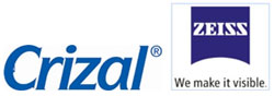 Crizal and Zeiss Logo