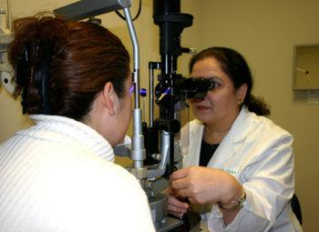 Tonometer for Eye Exam