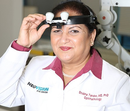 Dr. Tandon from NeoVision Eye Center
