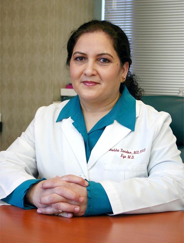 Ophthalmologist Dr. Tandon Smiling