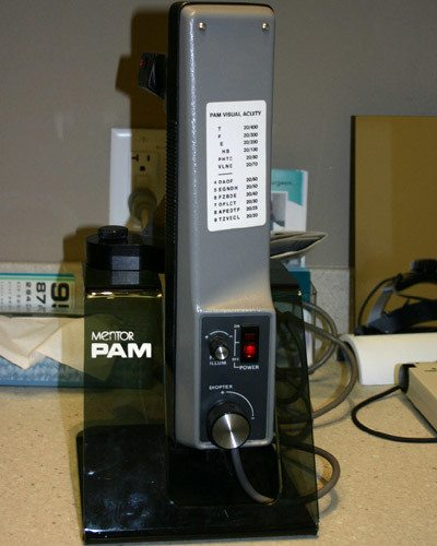 PAM (Potential Acuity Meter)