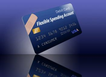 Generic FSA flexible spending account card