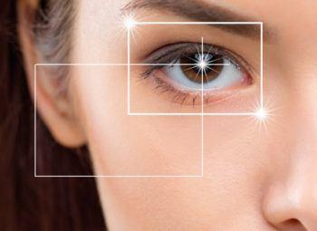 lasik vision correction concept