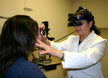 Indirect Ophthalmoscope for Comprehensive Eye Exam