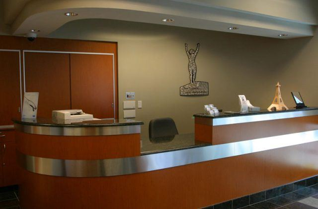 Neovision Eye Center Front Desk
