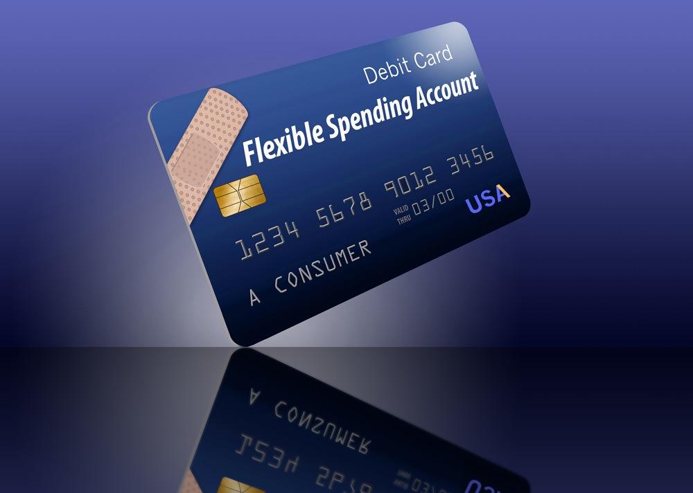 Generic FSA flexible spending account card
