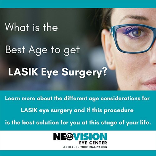 age considerations for LASIK eye surgery